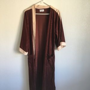 Christian Dior Monsieur One Sized Robe(Brown/Tan)